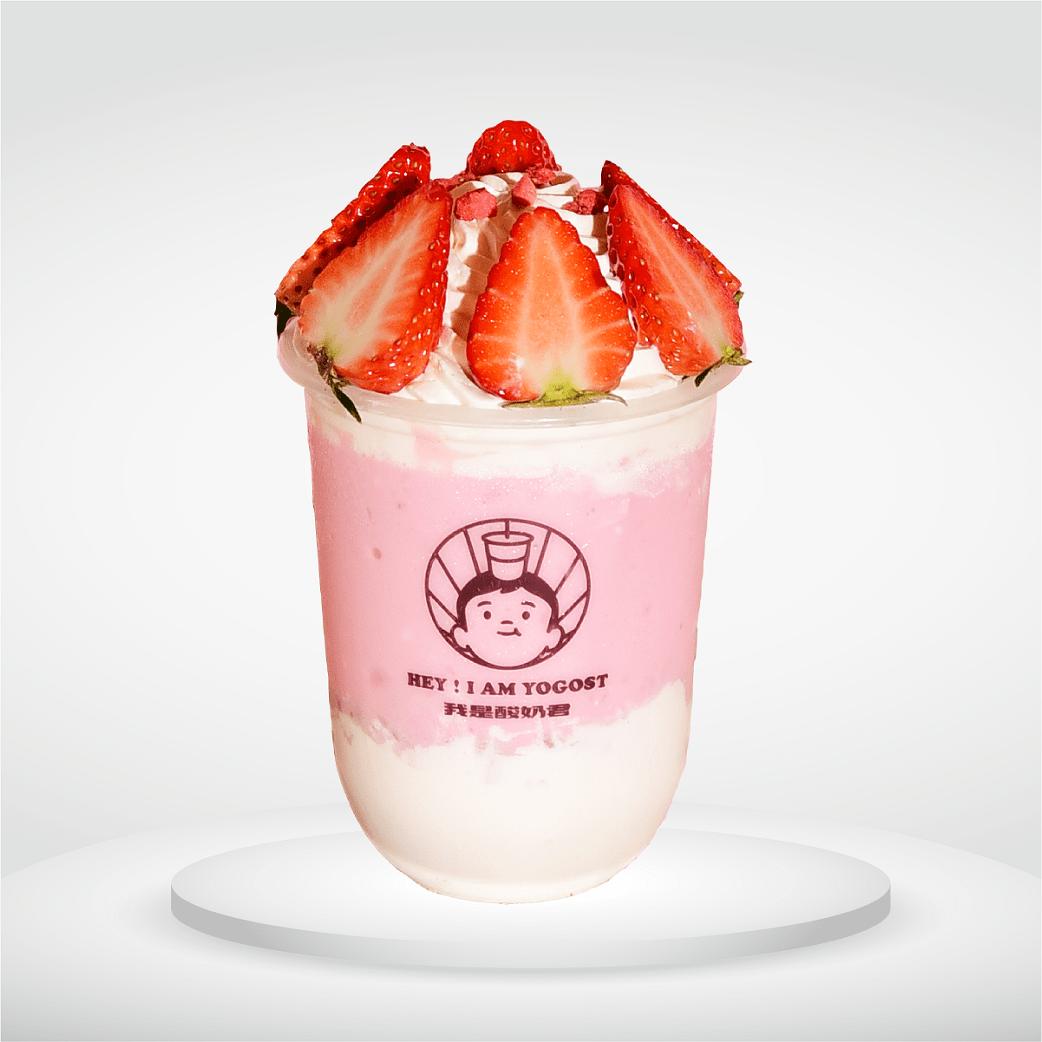 The Strawberry Mochi